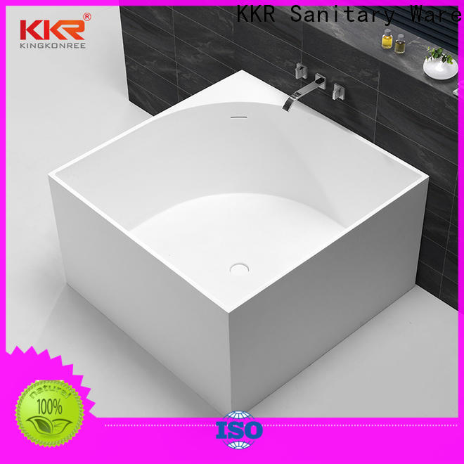 KingKonree hot-sale acrylic freestanding tub OEM