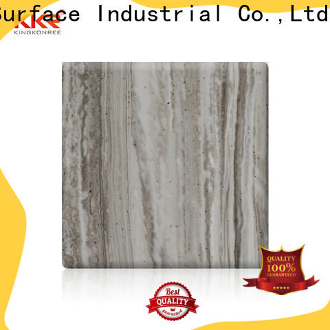 KingKonree acrylic solid surface supplier for indoors