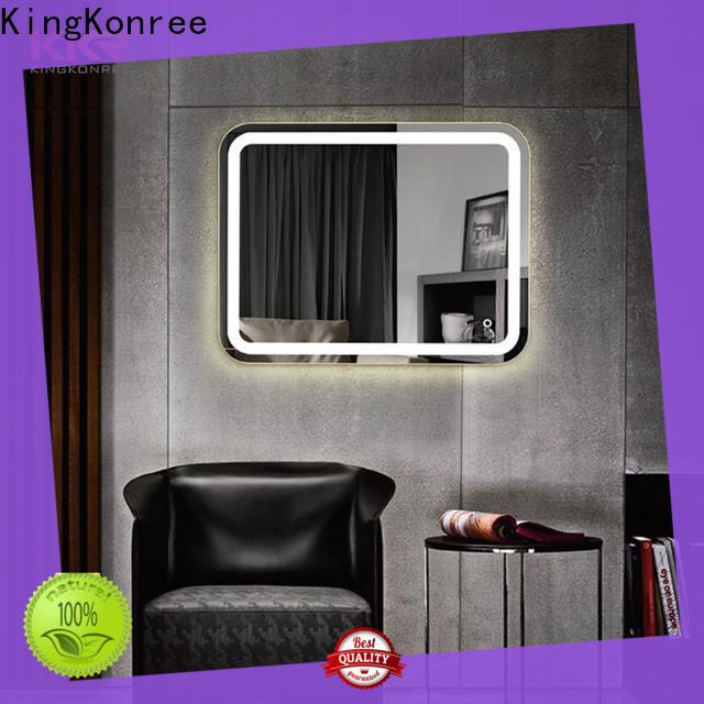 KingKonree small decorative mirrors customized design for bathroom