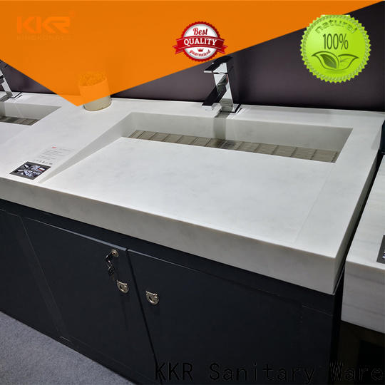 straight cloakroom basin with cabine small manufacturer for hotel