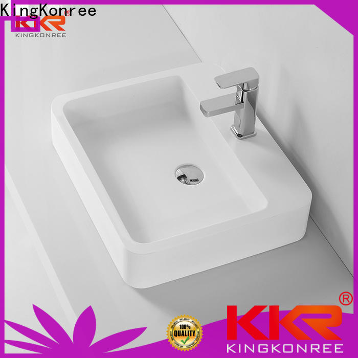 KingKonree surfce solid surface sink highly-rated
