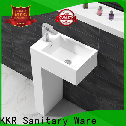 KingKonree round corian wash basin on-sale for family