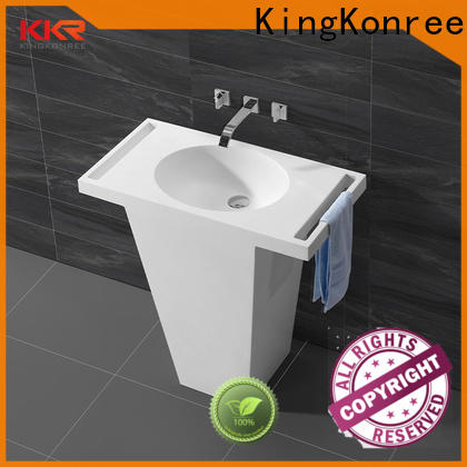 durable solid surface basin arcylic for wholesale for hotel