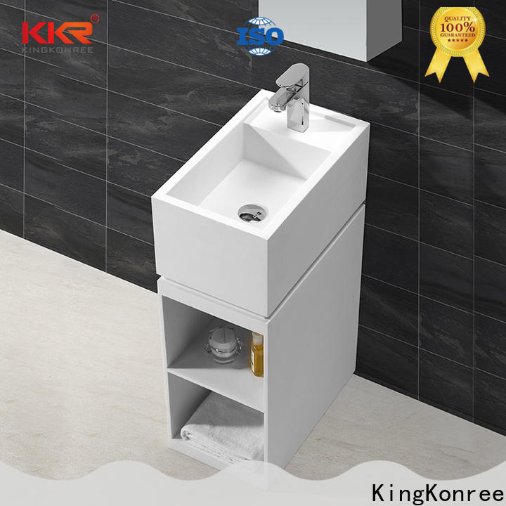 at discount corian wash basin for wholesale