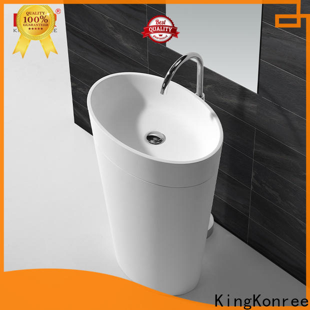 KingKonree free design bathroom wash basin top-brand for shower room