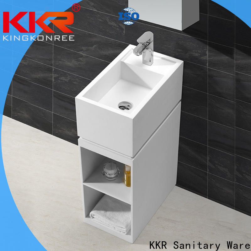 KingKonree bathroom sink stand factory price for bathroom
