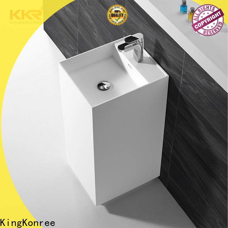 KingKonree soild surface bathroom sanitary ware supplier for hotel