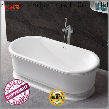 hot selling solid surface freestanding tub free design for shower room