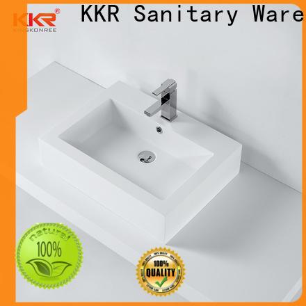best quality above counter basins manufacturer for restaurant
