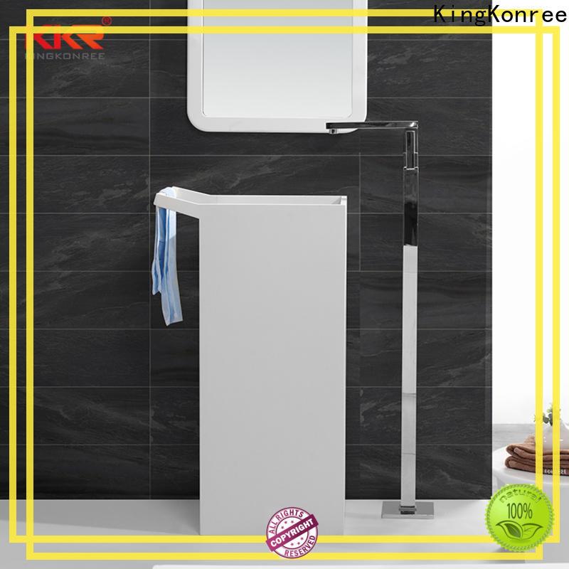 KingKonree rectangle freestanding basin supplier for home