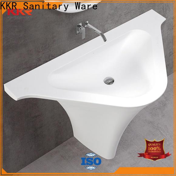 KingKonree durable stand alone bathroom sink supplier for home