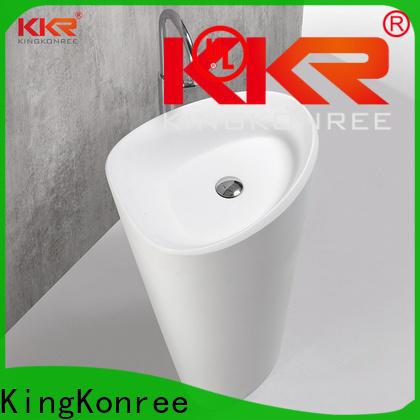 KingKonree freestanding basin supplier for hotel