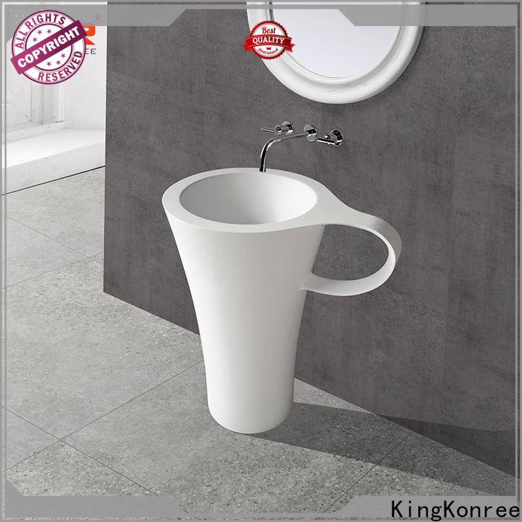KingKonree black sanitary ware suppliers customized for hotel