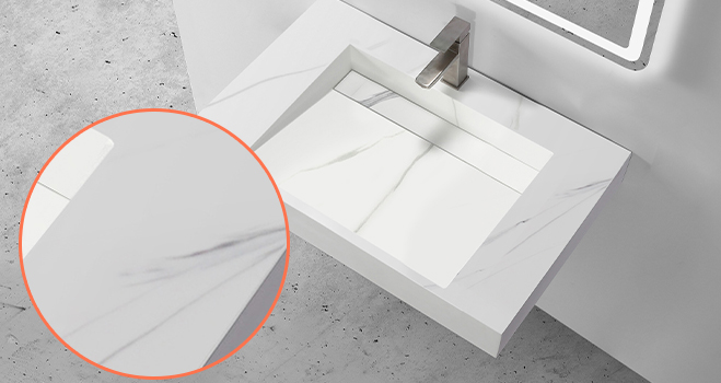 rectangle wall hung basin manufacturer for bathroom-5