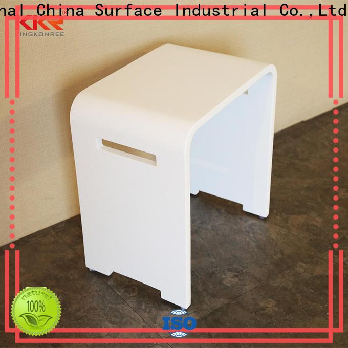 KingKonree modified plastic shower stool design for room