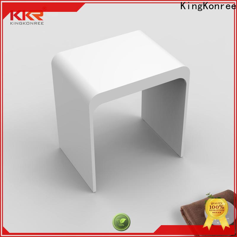 soild small bathroom stool customized for room