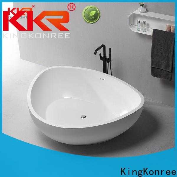KingKonree small stand alone bathtub at discount for bathroom