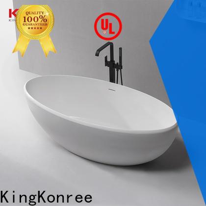 KingKonree small stand alone bathtub custom for hotel