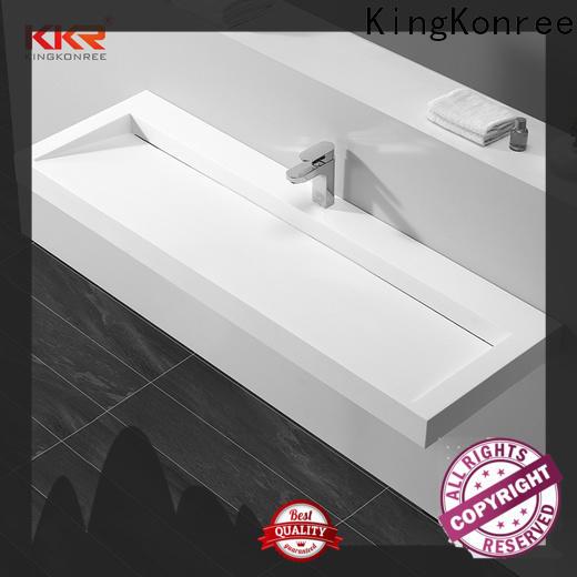 KingKonree wall hung cloakroom basin supplier for toilet