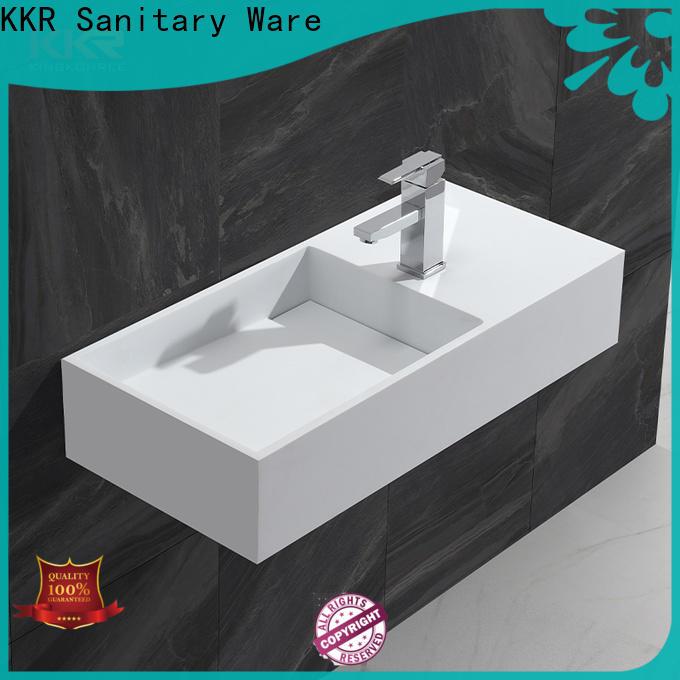 sturdy wall hung basin sink for bathroom