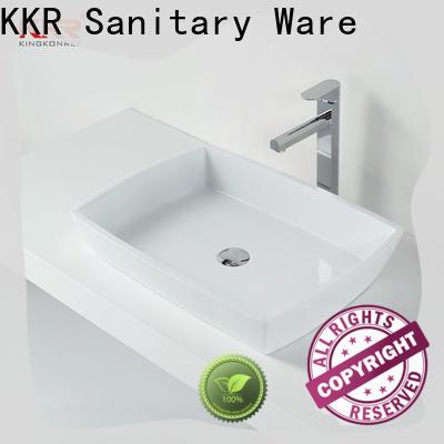 KingKonree sturdy bathroom wash basin for wholesale for bathroom