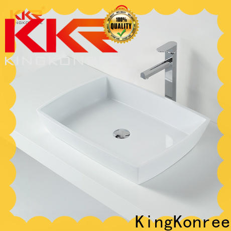 KingKonree small countertop basin at discount for room