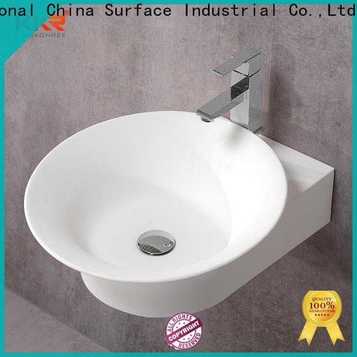 KingKonree soild surface sanitary ware suppliers factory price fot bathtub
