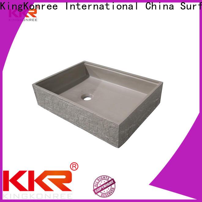 KingKonree above counter sink bowl design for room