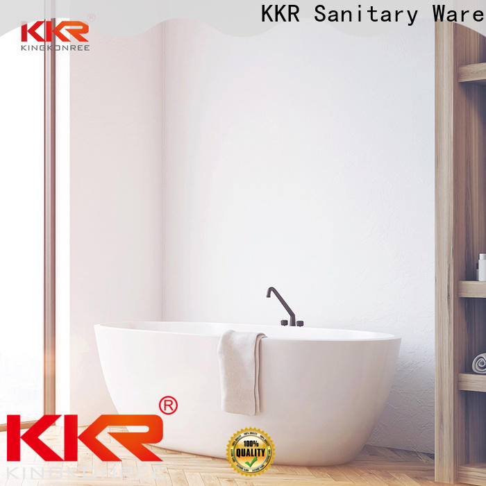 KingKonree bulk production free standing soaking tubs custom for hotel