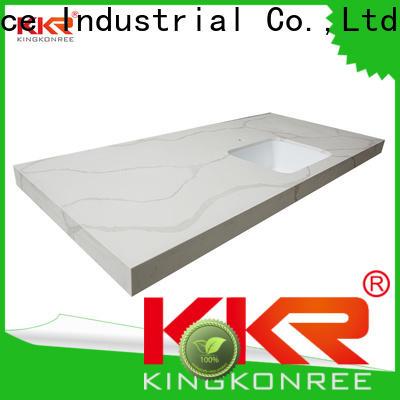 KingKonree glossy solid worktops high-qualtiy for home