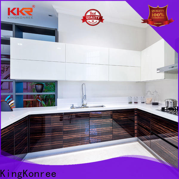 KingKonree solid worktops high-qualtiy for restaurant