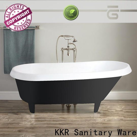 KingKonree hot selling free standing soaking tubs OEM for bathroom