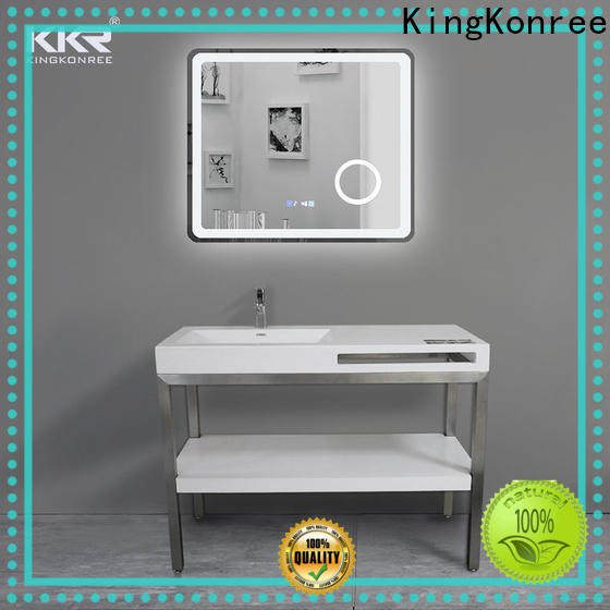KingKonree solid stone countertops manufacturer for bathroom