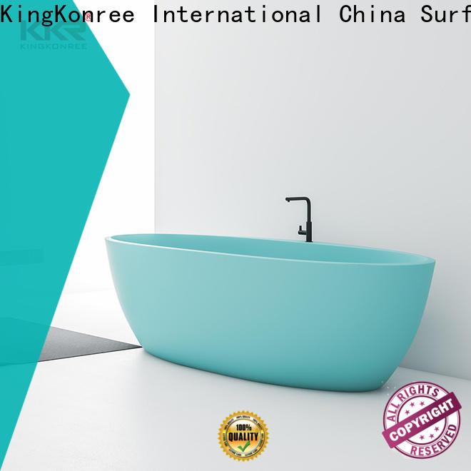 marble acrylic freestanding tub OEM for bathroom