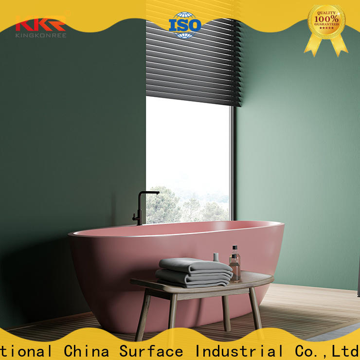 KingKonree high-quality modern freestanding tub at discount for hotel