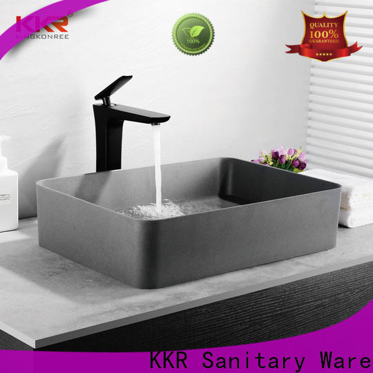 KingKonree excellent small countertop basin customized for room