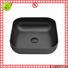 KingKonree durable small countertop basin cheap sample for room