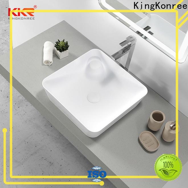 KingKonree small countertop basin design for room