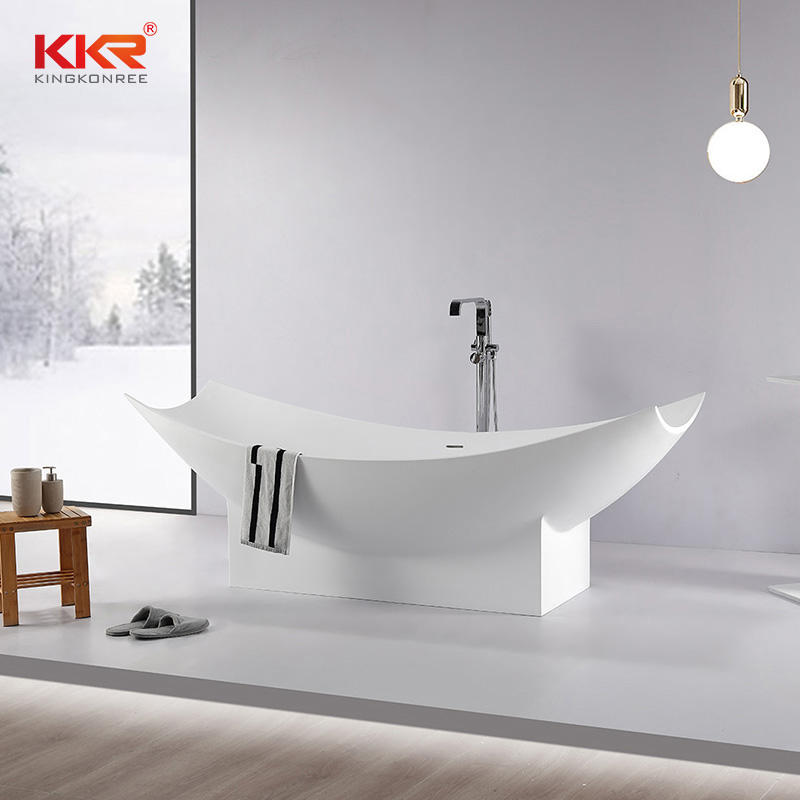 Customize Freestanding Bathtub Bathroom Stone Bathtub