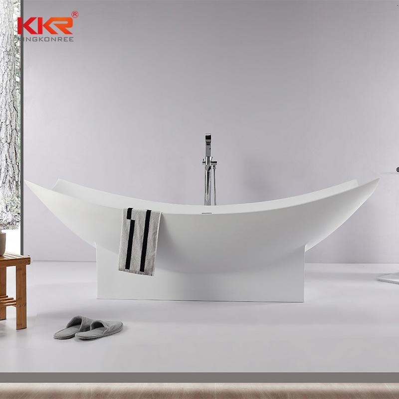 Customize Freestanding Bathtub Bathroom Stone Bathtub