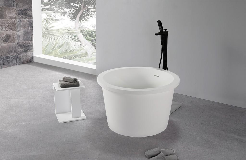 finish acrylic freestanding tub OEM