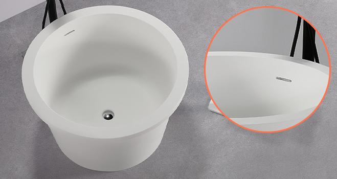 finish acrylic freestanding tub OEM-2