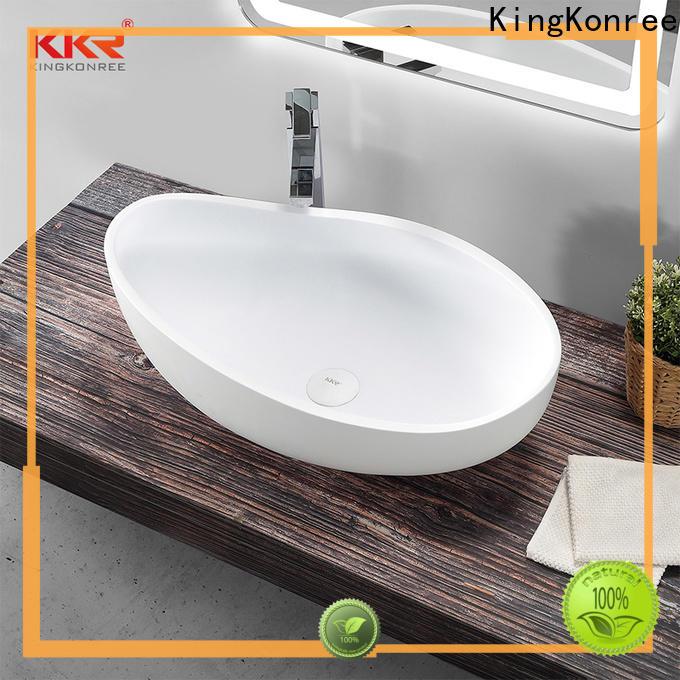 KingKonree above counter vanity basin cheap sample for home
