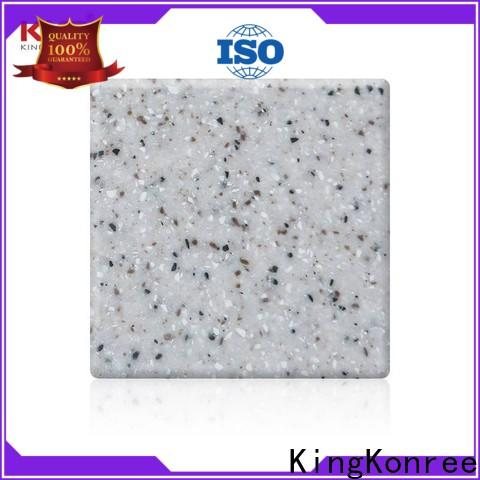 KingKonree artificial stone solid surface sheets with good price for room