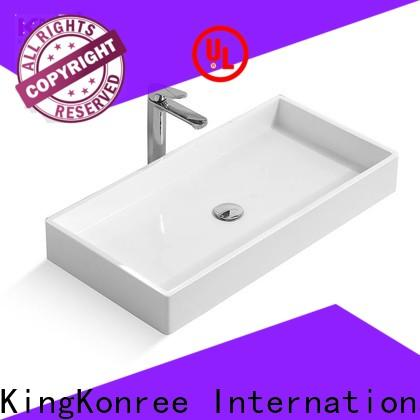 KingKonree above counter vanity basin at discount for home