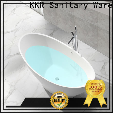 KingKonree high-end acrylic clawfoot bathtub free design