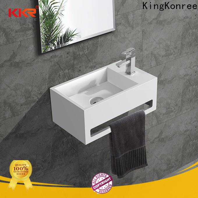 KingKonree stainless steel wash basin design for hotel