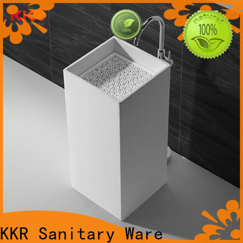 KingKonree professional free standing wash basin customized for home