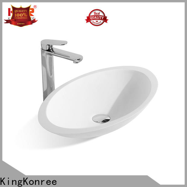 standard above counter vessel sink at discount for hotel