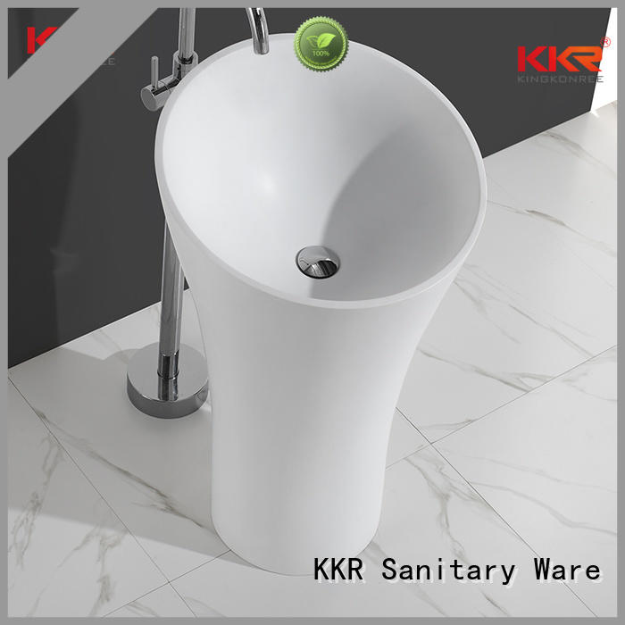 bathroom free standing basins basin fancy stand KingKonree Brand freestanding basin